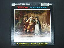 Highlights from Verdi FALSTAFF Toscanini NBC Symphony Orchestra RCA VICTOR 3LP