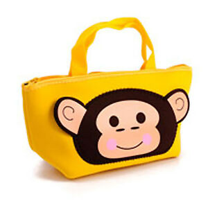 Get Crafty Small Novelty Tote Bag For Sewing Cross Stitch Monkey Storage Bag New