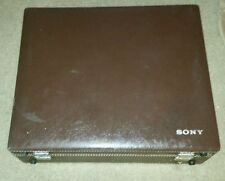 Vintage SONY AVC-3250 Television TV VIDEO CAMERA with CASE LENS 1:1.8 12.5-75mm