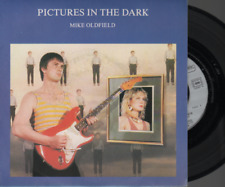 """Mike Oldfield Pictures In The Dark 45T 7"""" Inch SP 45 Tours france french 008367"""