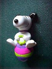 Peanuts Snoopy on Easter Egg Figurine