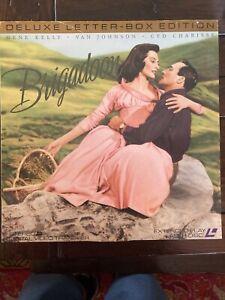 Brigadoon Gene Kelly Cyd Charisse Van Johnson 1950s Musical Fantasy (Laserdisc)