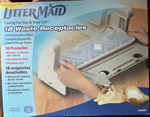 LitterMaid Cat Waste Receptacles 18 Count- New