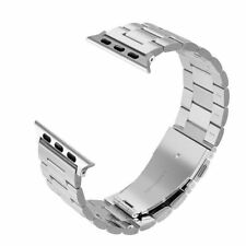 Simpeak Stainless Steel Band Straps for Apple Watch 38MM Series 3/2/1, UK Seller