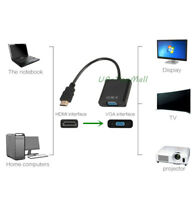 HDMI DVD PC Adapter to Female Cable 1080P VGA Converter for Video Male HDTV