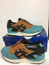 ASICS GEL LYTE V SZ 9.5 KING FISHER BLACK TAN GORETEX PACK HL6E2 4890
