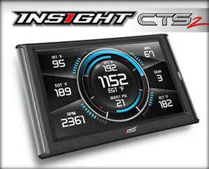 Edge Products Insight CTS2 Color Touch Screen Monitor Gauge 96-Up Vehicles