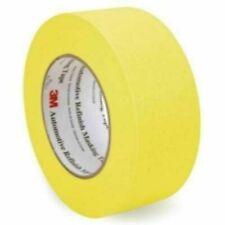 3M 06656 Crepe Paper Automotive Refinish Masking Tape 1 1/2 Inch, 12pck , Yellow