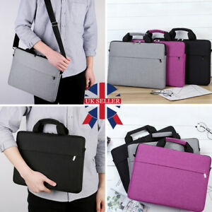 15.6 inch Laptop Shoulder Bag PC Waterproof Carrying Soft Notebook Case Cover V