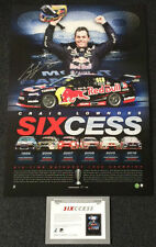 CRAIG LOWNDES SIGNED SIXCESS V8 BATHURST CHAMPION OFFICIAL LIMITED EDITION PRINT