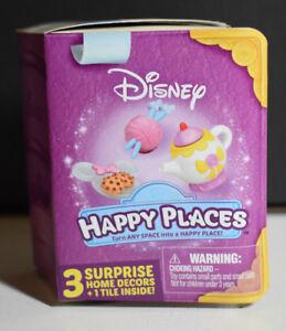 Disney Happy Places - Pick Your Set - Shopkins Blind Box Minnie Cinderella Belle