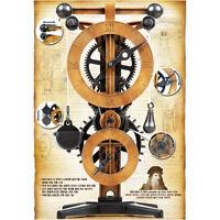 Academy Da Vinci Machines Series Clock Plastic Model Kit #18150