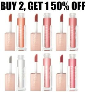 Maybelline Lifter Gloss Hydrating Lip Gloss With Hyaluronic Acid- Choose A Shade