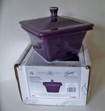 Belk Store Exclusive Fiesta Square Covered Box, Candy Dish MULBERRY New In Box