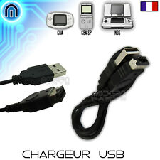 Chargeur USB pour Nintendo Game Boy Advance, GBA, SP, DS, TANK, FAT (Cable Sync)