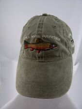 Little River Outfitters Fish Hat Townsend Tennessee TN Green Cotton Cap Trout