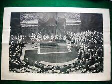 Stampa enorme Nel 1921 XXVI Legislatura Giolitti Cotugno Ferd card. Tacci
