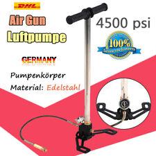 4500psi Diese HOCHDRUCK Luftpumpe Air Gun Pump PCP Handpumpe Faltbar Edelstahl