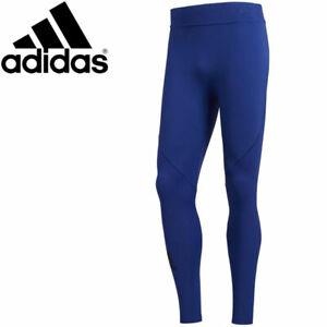 Adidas Ask Tec Tight Lt [ Size M / XXL ] Men's Running Pant Long Blue Nip