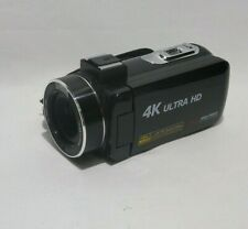 4K Camcorder Video Camera, Vlogging Camera for YouTube 30MP Camcorder 3.0 Inch