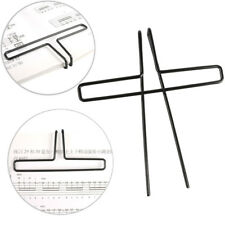 2Pcs Music Stands Song Book Page Holder Clip Music Note Clips Sheet Metal Black