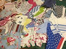 Fabric Scraps Offcuts Mixed Lot Incl Cath Kidston Laura Ashley Rose&Hubble