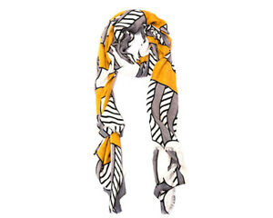 SOFT BAMBOO AND CASHMERE PRINTED SHAWL - WINTER QUALITY NECK WRAP ECO FRIENDLY