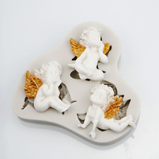 Angel Angels Silicone Mold Mould for cake Icing  M165