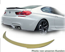 BMW 6er M6 F12 Cabrio 640i 650i Tuning SPOILER F13 Heck Wing Lippe Type V  tronc