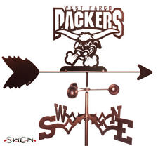 Swen Products West Fargo Packers Steel Weathervane