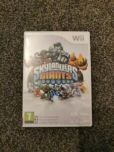 Skylanders Giants WII - Game and instructions