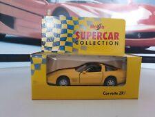 MAISTO  - CORVETTE ZR1 - 1/36  SCALE MODEL - SUPER CAR COLLECTION