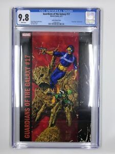 Marvel's Guardians of the Galaxy #17 Jusko Variant Cover CGC 9.8