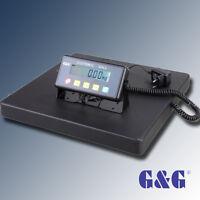 G&G PSB 75kg/150kg/300kg Paketwaage Plattformwaage 40x40cm  repariert/Gebraucht