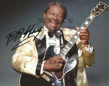 B.B.King Autographed signed 8x10 Photo Reprint