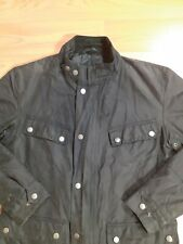 Barbour international Mens wax jacket  Green Size Small