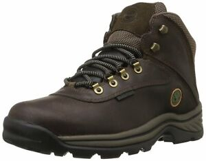 Timberland Mens white ledge Leather Round Toe Ankle, Dark Brown, Size 12.0 jJmB