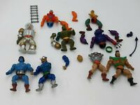 He-Man Masters of the Universe MOTU Figures Lot for Repair Parts Modding AS IS.
