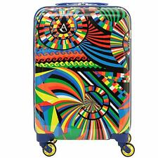 Aerolite 55cm Polycarbonate Hard Shell 4 Wheel Travel Carry On Hand Cabin Bag
