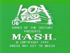 M*A*S*H  (TI-99/4a, 1983)  ( MASH M A S H )SPEECH ON 5.25  DISK & COPY OF MANUAL