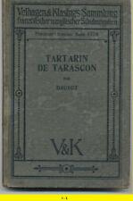 Livre ancien 1919 - TARTARIN DE TARASCON - A. Daudet - Ed. Allemande en Français