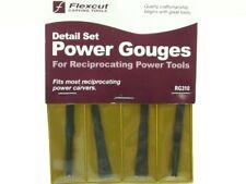 Flexcut RG310 4 Piece Power Wood Working Gouge Carivng Set
