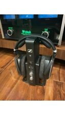 Sennheiser HDR 195 Headphone with Selectable Hearing Black - Looks Great - RCA
