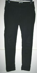 Frankie Dorothy Perkins Women's Casual Black Stretchy Skinny Jeans Trousers 14R