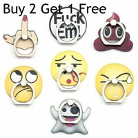 Funny Emoji 360 Phone Grip Holder Stand Finger Ring For iPhone Samsung@honor