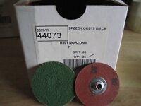 """NORTON 37344 2/"""" 36Y GRIT SPEED LOK TS DISC AA8920-25"""