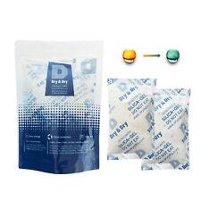 "100 gram X 25 PK ""Dry & Dry"" Food Grade Orange Indicating Silica Gel Packets"