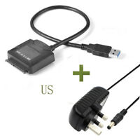 USB3.0 to 2.5 3.5 IDE SATA Hard Drive HDD SDD Converter Adapter PC Cable