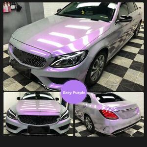 Fantasy Grey&purple Car Wrap Vinyl Auto Sticker Wrap PVC Vinyl