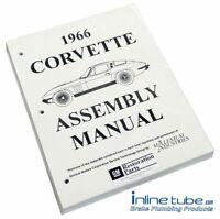 1966 Chevrolet Corvette  Factory Assembly Rebuild Instruction Manual Book